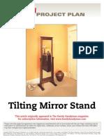 Tilting Mirror Stand - FH96DJA