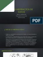 Tipos de Abstractos de Datos