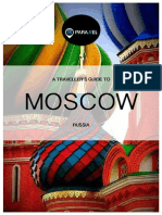 Moscow Travel Guide Book