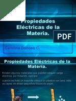 Clase 1- Propiedades Eléctricas de la Materia