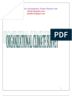 Organizational Climate Survey Project Report