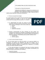 RESOLUCIÓN DE EXAMEN FINAL DE EXPLOTACIÓN DE GAS