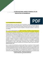 CONFERENCIA No. 3 - LA PLANEACIÓN NACIONAL MARCO GENERAL DE LOS PROYECTOS DE DESARROLLO