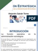 Direccion Estrategica - Las Operaciones en La Admon Estrategica