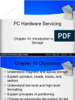 C10 Introduction to Disk Storage