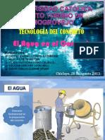 Agua-tecnologia Del Concreto