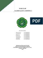 Analisa Kasus Cimptronix Corp. - Auditing II