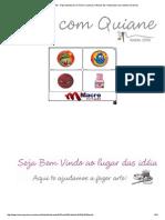 Arte Com Quiane - Paps,Moldes,e.V