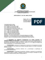 RESOLUÇÃO 2012 PDDE