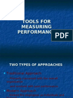 Tools for Measuring Performance