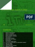 Structured System Analysis & Design