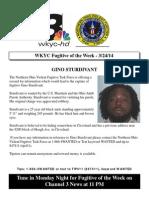 Fugitive of the Week