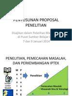 Pelatihan Proposal Skripsi PSB Universitas Negeri Jakarta 2014