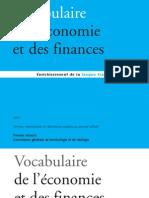 Vocabulaire de l'économie et des finances 2012 (1)