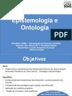 Epistemologia e Ontologia