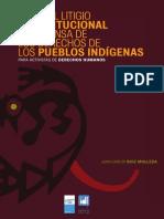 Guía del litigio constitucional en defensa  de los derechos de los pueblos indígenas  para activistas de derechos humanos