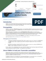 Fiddler Web Debugger - Importing and Exported From Fiddler