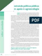 Construindo Politicas Publicas Rumo a Agroecologia Revistaagriculturas