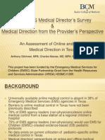 Ems Med Dir Prov Survey