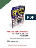 Rahasia Meraup Profit 10 Juta Di Bulan Pertama