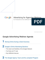Advertising for Agencies Webinar