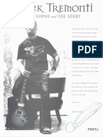 Mark Tremonti - The Sound and the Story Booklet