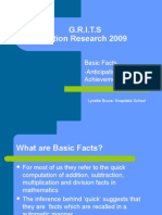 G.R.I.T.S Action Research 2009