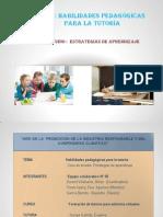 MODULO IV - Habilidades Pedagógicas para la Tutoría