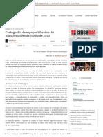 Cartografia de espaços híbridos_ As manifestações de Junho de 2013 - Carta Potiguar