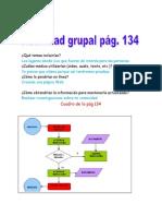Actividades pág. 134 y 135