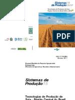 EMBRAPA Tecnologias de produção de soja
