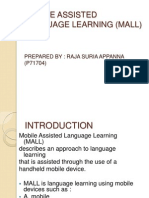 Task 2 Mobile Assisted Language Learning (Mall)A