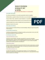 TIPOS DE SOLUCIONES INTRAVENOSAS Y SU CLASIFICACIÓN