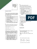 Lista Particulas e Radioatividade