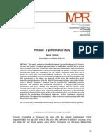Pression–aperformancestudy