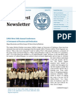 LMSA West Spring 2014 Newsletter