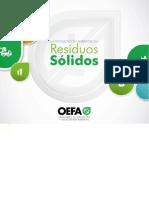 La Fiscalización Ambiental en Residuos Sólidos