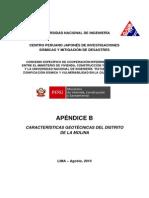 Caracteristicas Geotecnicas Del Distrito de La Molina