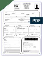 Registro de Servicio Social