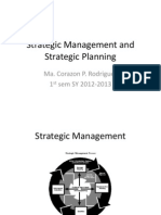 Strategic Management T 120 Powerpoint