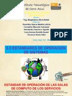 2.3 Estandar de Operacion