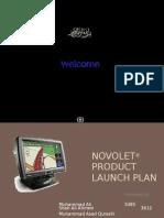 Novolet Launch Plan