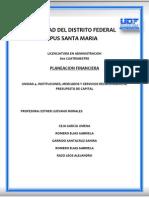 Unidad 4 - Planeacion Financiera