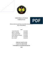 Kelompok 6 - Biaya Standart (Partial Plan)