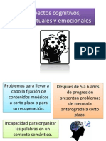Aspectos Cognitivos, Conductuales y Emocionales (Huntington)