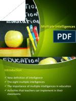 Multiple Intelligences (Last)