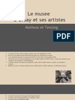 musee french museum project powerpoint