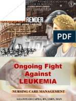 Battle Against Leukemia
