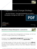 Change Strategy the First 30 Days by Bob Panic www.rockstarconsultinggroup