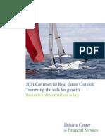Us Fsi Deloitte2014CommercialRealEstateOutlook 102813